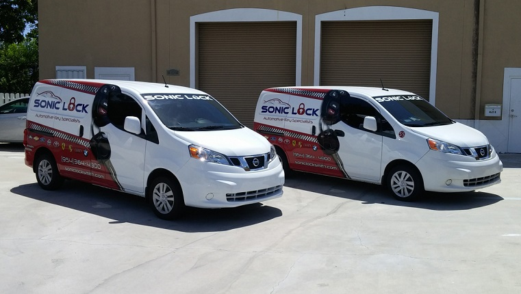 Commercial Car Wraps fleet wrap Davie dania beach hollywood hallandale