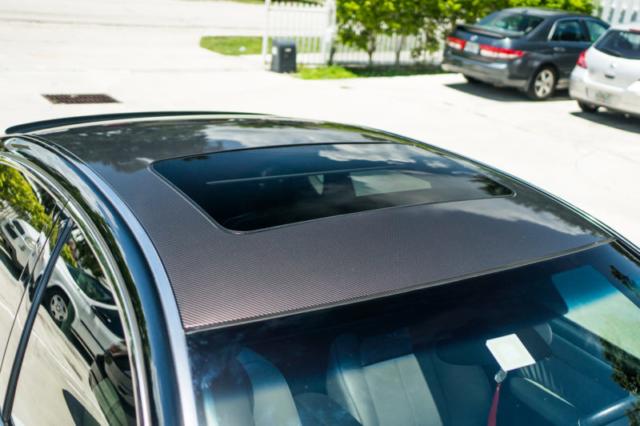 Best printed gloss carbon fiber vinyl wrap glossy roof hood mirror spoiler dania beach davie miami broward south florida star car wraps